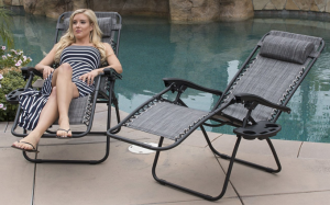 Belleze 2 Pack Zero Gravity chairs