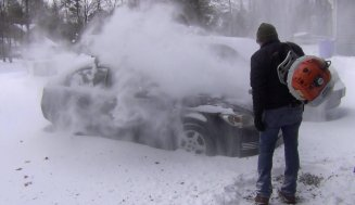 Can You Use An Electric Leaf Blower For Snow