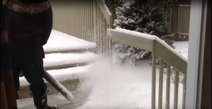 Electric Leaf Blower for Snow