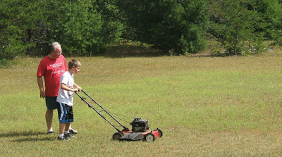 cj lawn mowing