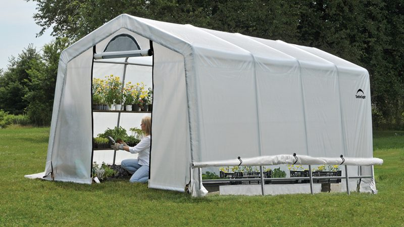 Using Tent to Protect Your Plant from the Sun