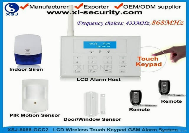 Design For Wireless Home Security